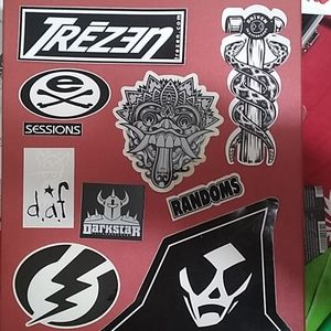 Vintage Skateboarding Decals
